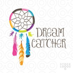 I really like the colors on the dream catcher and the symbol. Hippie Art, Hippie Chic, Bohemian Gypsy, Hippie Style, Peacock Logo, Dreamcatcher Wallpaper, Branding Design, Logo Design, Bohemian Furniture