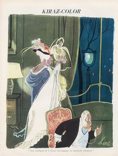 Edmond Kiraz 1965 Les Parisiennes, Wedding Dress