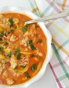Paella, My Favorite Food, Favorite Recipes, Portuguese Recipes, Food Goals, Fish Dishes, Empanadas, Risotto, Seafood