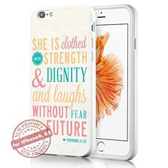 Bible Verses She is Clothed.. Art Fashion iPhone 6 6s Cas... http://www.amazon.com/dp/B01DJ4PYGI/ref=cm_sw_r_pi_dp_XULhxb1Y6569K