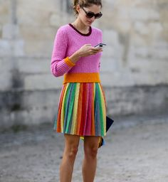 Pin for Later: Et Voilà! Over 160 of the Most Stunning Paris Street Style Photos Paris Fashion Week Street Style Fashion Moda, Look Fashion, Star Fashion, Fashion Trends, Paris Fashion, Estilo Preppy, Estilo Boho, Looks Street Style, Street Style Trends