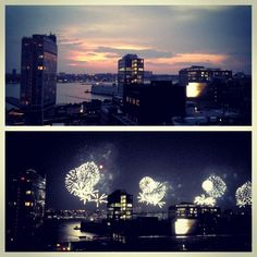 Last night's #4thofjuly view from Plunge @HotelGansevoort!
