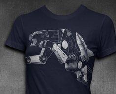 Ravage T-shirt Womens t-shirt Decepticon shirt Transformer T-shirt Allegiance: DECEPTICON Function: Saboteur Todays Autobots are