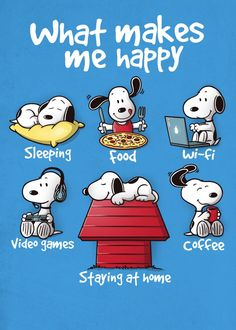 Snoopy Staying At Home Makes Me Happy Men's T-Shirt by NemiMakeit - Cloud City 7 Snoopy Cartoon, Peanuts Cartoon, Peanuts Snoopy, Happy Snoopy, Snoopy Love, Snoopy Shop, Snoopy Images, Snoopy Pictures, Charlie Brown Und Snoopy