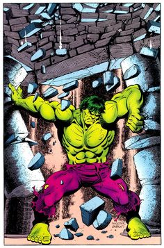 Marvel Comics of the 1980s: The Hulk by Jim Shooter and Terry Austin