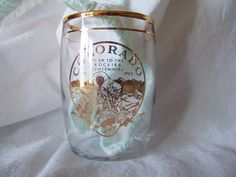 Coors Glassware  Clear glass with gold trim by mimishomefashions