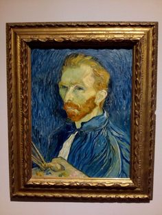 Vincent Van Gogh 'Self-Portrait' Oil on Canvas 1889 _ On View National Gallery of Art National Art, National Gallery Of Art, Art Gallery, Most Famous Paintings, Great Paintings, Picasso, Van Gogh Exhibition, Van Gogh Self Portrait, Vincent Willem Van Gogh