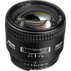Nikon AF Nikkor 85mm f/1.8D Lens 1931 B Photo Video $429