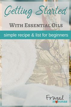 Getting Started Essential Oils Beginners List and Recipe with easy ingredients and information to help you begin a healthier lifestyle today. Essential Oil Beginner, Essential Oils, Healthy Oils, Get Healthy, Healthy Recipes, Frugal Family, Frugal Living, Healthy Family Meals, Family Recipes