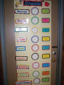 Such a good idea for class schedule