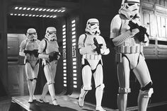 Stormtroopers on the Death Star