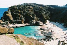 Halona Cove, Hawaii