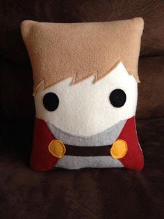 Arthur  pillow, Original  Merlin inspired decorative pillow, merlin, Arthur