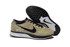 Men's flyknit racer multiple color Nike Nike Flyknit Racer, Nike Lunar, Discount Nikes, Sneakers Nike, Shoes, Black, Color, Fashion, Nike Tennis
