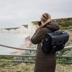 Early morning shots of Seven Sisters using our new backpack convertible Sloane Street camera messenger bag. Available now.