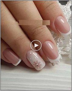 161 beautiful acrylic short square nails design for french manicure nails 2 ~ Modern House Design Nail Art Designs, Square Nail Designs, Nails Design, Rose Nail Art, Nail Art Diy, Art Rose, Summer Gel Nails, Les Nails, Elegant Nail Art