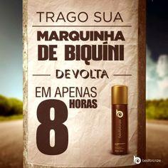 Não tem mágica, nem feitiçaria! É só Best Bronze mesmo. www.bestbronze.com.br