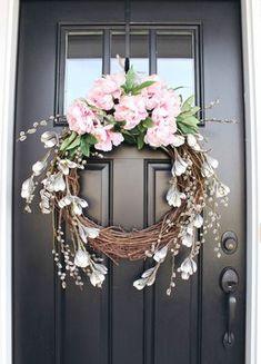 Peony Wreath - zoewithlove.me