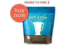 Cup4Cup-a GF flour that allows you to use ANY non GF recipe you have & replace the flour CUP 4 CUP! developed by Thomas Keller's people in their restaurant where they are known for their breads, pastry s & deserts!!