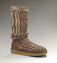 new ugg style.. knit, have a button, have a zipper...and have a spot on my want list!
