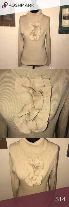 Beautiful Talbots turtleneck Beautiful Talbots turtleneck very gently used Talbots Sweaters Cowl & Turtlenecks