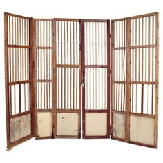 Check out this item at One Kings Lane! 19th-C. Spanish Colonial Room Screen