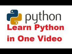 In this Python Tutorial for Beginners Video, I am going to show you how to Create and Run Your First Python class. In Python, everything is an object i. Programming Tutorial, Learn Programming, Python Programming, Computer Programming, Computer Science, Different Programming Languages, Linux Mint, First Video, Deep Learning