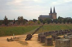 The ancient ruins at Xanten, Germany