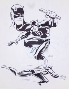 Daredevil by Bruce Timm *