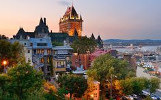 Quebec Vacation Travel Guide - Quebec Travel in Canada Best Places To Honeymoon, Best Honeymoon Destinations, Places To Travel, Travel Destinations, Honeymoon Tips, Old Quebec, Montreal Quebec, Quebec City, Ottawa