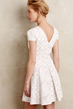 Bruxelles Lace Dress #anthrofave