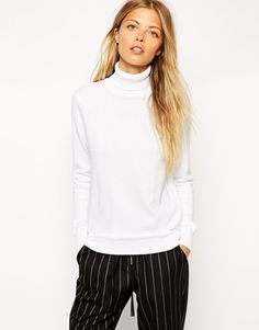 ASOS Jumper With Roll Neck