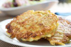 Eine köstliche Sache ist dieses #Rösti mit #Äpfel. Ein Rezept - zu gekochtem Rindfleisch oder warmen Geselchtem.
