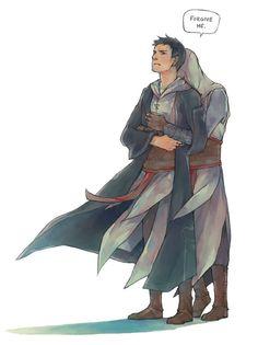 Altair & Malik. AltMal. Assassin's Creed