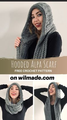 Crochet Hoodie, Knit Crochet, Crochet Hats, Free Form Crochet, Crochet Patterns, Shawl Patterns, Crochet Shawls And Wraps, Crochet Scarves, Crochet Needles