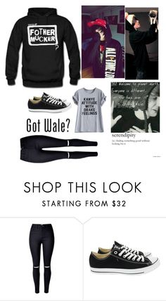 """I swear, Jeydon Wale will be the death of me"" by igotohottopic ❤ liked on Polyvore featuring Converse"