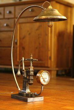 steampunk lampe - Recherche Google