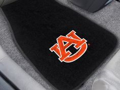 "Auburn 2-piece Embroidered Car Mats 18""x27"""