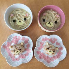 Rilakkumar& Korilakkumar rice & noodle lunch by ❁Hirona_kitchen❁ (@hirona_kitchen)
