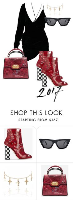 """""""D&G Graffiti"""" by kyra-pavlis ❤ liked on Polyvore featuring Dolce&Gabbana and CÉLINE"""