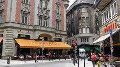 Hungary - Budapest - Ungarn - Budapest - Centrál Kávéház