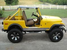 Jeep CJ-7 Cheap Jeeps, Cool Jeeps, Jeep Willys, Jeep Jeep, Lifted Trucks, Pickup Trucks, Badass Jeep, Vintage Jeep, Old Jeep