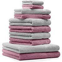 Betz 10 Tlg Handtucher Set 2 Duschtucher 4 Handtucher 2 Gastetucher 2 Waschhandschuhe 100 Baumwolle Duschtuch Badetuch Handtuch Premi Towel Set Towel Cotton