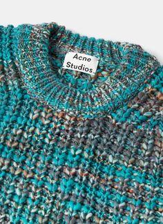 Acne Studios Zora Oversized Multi Knit Sweater | LN-CC