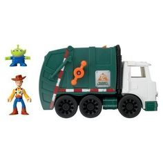 Opens in a new window Gifts For Boys, Toys For Boys, Brian Christopher, Alien Figure, Fisher Price Toys, Toy Story 3, Garbage Truck, Sweet Memories, Disney Pixar