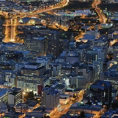 Cape Town city centre at blue hour almost resembles a living organism to me, with the roads representing veins and arteries and buildings cells or other structures. Featuring @morrowsteven  ______________________________________________ Good evening everyone!  @fadzonair here with another spectacular photo of the city lights in the weekend takeover. Pleasea tag your shots with #CapeTownMag to be featured... there's still time . Blue Hour, City Lights, Cape Town, Roads, New York Skyline, Centre, Buildings, Shots, Instagram Posts