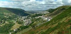 The Rhymney Valley -- Wales