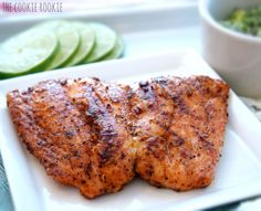 WHOLE30 APPROVED grilled salmon with avocado salsa.  healthy and delicious...my favorite salmon recipe - a must try!