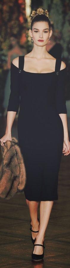 Dolce & Gabbana Alta Moda, Spring 2015.
