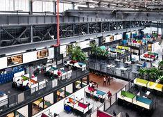 Macro Sea turns Brooklyn warehouse into New Lab co-working space